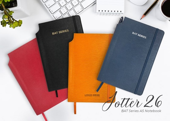 Notebook with Pen Slot & Pocket