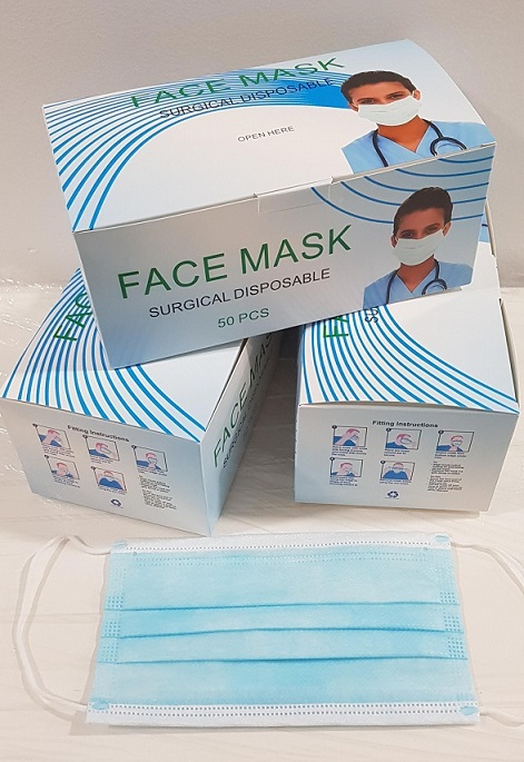 Surgical Disposable Face Mask - 3 Ply